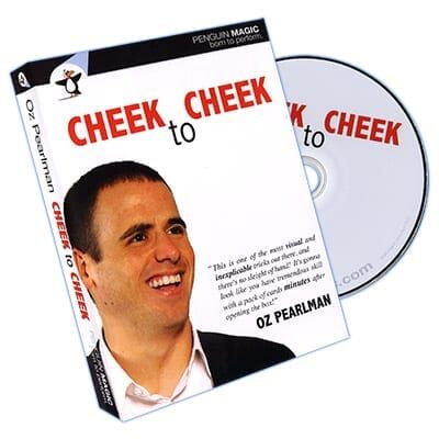 Cheek to Cheek (With Blue deck) by Oz Pearlman - DVD