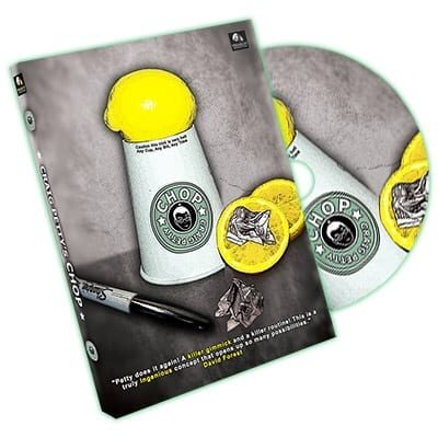 Chop (Gimmicks and DVD) by Craig Petty and World Magic Shop - DVD