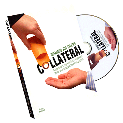 Collateral by Diamond Jim Tyler (DVD W/ Gimmicks)- DVD