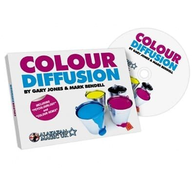 Color Diffusion by Gary Jones and Alakazam - DVD