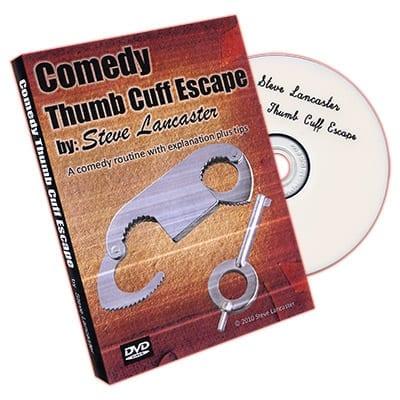 Comedy Thumb Cuff Escape by Steve Lancaster - DVD