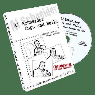 Al Schneider Cups & Balls by L&L Publishing - DVD