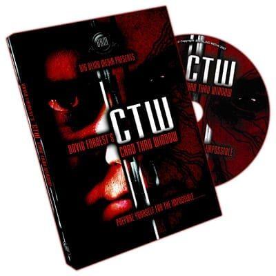 CTW (Card Through Window) by David Forrest & Big Blind Media - DVD