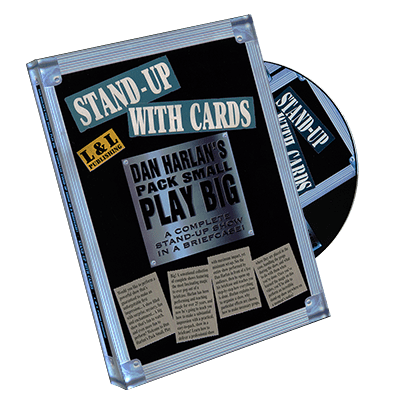 Harlan Stand Up With Cards, DVD
