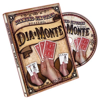 DiaMonte (DVD and Cards) by  Diamond Jim Tyler - DVD