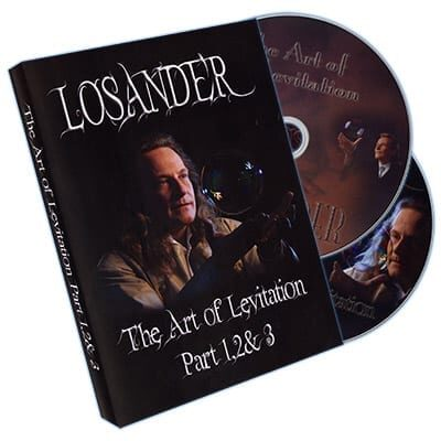 Art of Levitation Part 1,2, & 3 by Losander - DVD