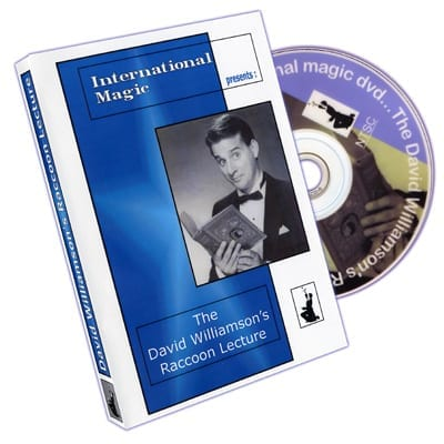 David Williamson Raccoon Lecture by International Magic - DVD