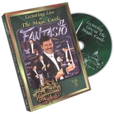 Lecturing Live At The Magic Castle Vol. 3 by Fantasio - DVD