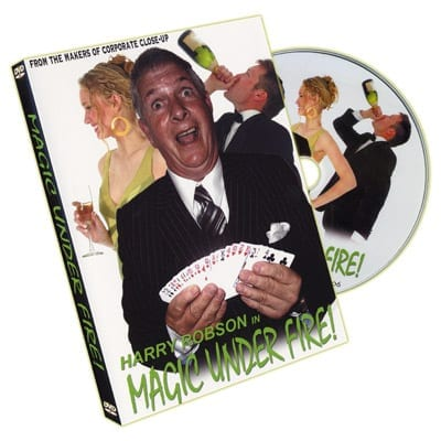 Magic Under Fire by Harry Robson & RSVP - DVD