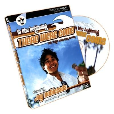 In The Beginning There Were Coins by Jay Noblezada - DVD