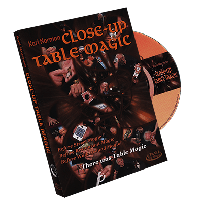 Close Up Table Magic by Karl Norman - DVD