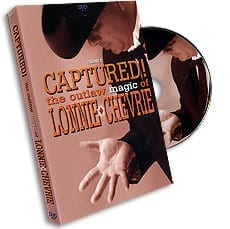 Captured! Outlaw Magic - Volume 2 by Lonnie Chevrie - DVD