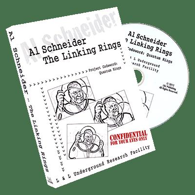 Al Schneider Linking Rings by L&L Publishing - DVD