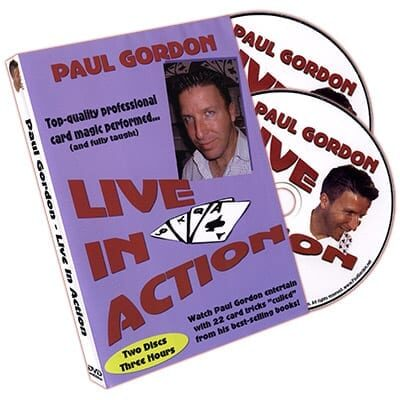 Live In Action (2 DVD Set) by Paul Gordon - DVD