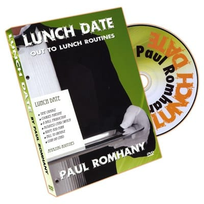 Lunch Date by Paul Romhany - DVD