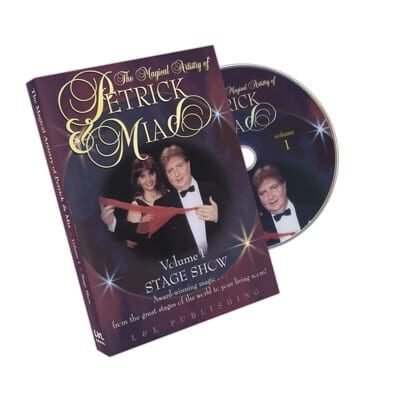 Magical Artistry of Petrick and Mia Vol. 1 by L&L Publishing- DVD