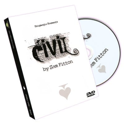 Civil (Coin In Very Intriguing Location) by Sam Fitton - DVD