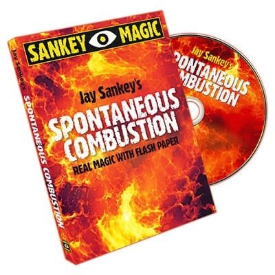 Spontaneous Combustion by Jay Sankey - DVD