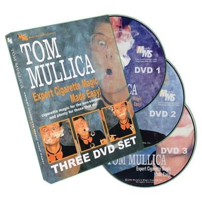 Expert Cigarette Magic Made Easy - 3 DVD Set by Tom Mullica - DVD