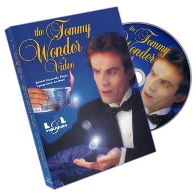 Tommy Wonder at British Close-Up Magic Symposium - DVD