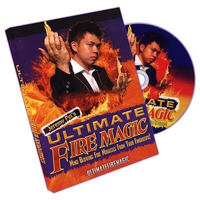 Ultimate Fire Magic by Jeremy Pei - DVD