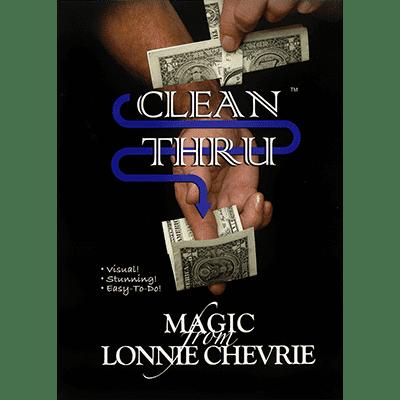 Clean Thru - Clear Thru by Lonnie Chevrie and Kozmo Magic video DOWNLOAD