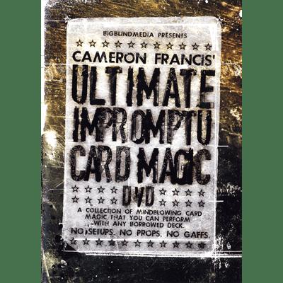 Ultimate Impromptu Card Magic by Cameron Francis & Big Blind Media
