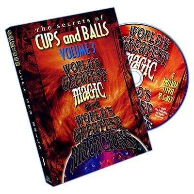 Cups and Balls Vol. 3 (World's Greatest) - DVD