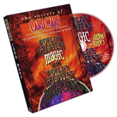 Card Warp (World's Greatest Magic) - DVD
