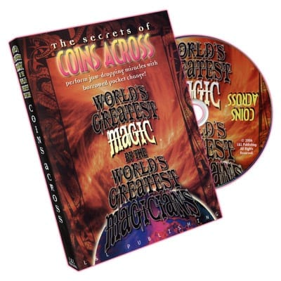 Coins Across (World's Greatest Magic) - DVD