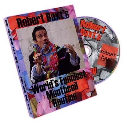 World's Funniest Mouthcoil Routine by Robert Baxt - DVD