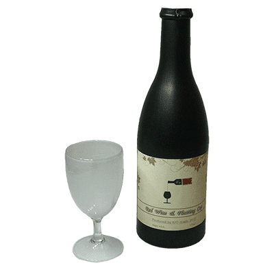 Electronic Airborne (Bottle and Stemmed Glass magnetic) - Trick