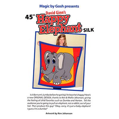 Happy Elephant Silk (45 inch) by David Ginn and Goshman - Tricks