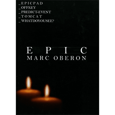 Epic by Marc Oberon - Book