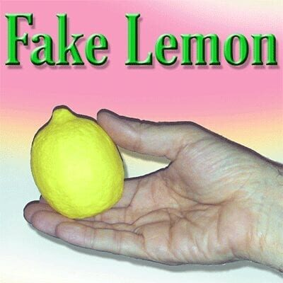 Fake Lemon by  Quique Marduk - Trick