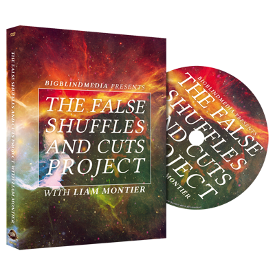 The False Shuffles and Cuts Project by Liam Montier and Big Blind Media - DVD