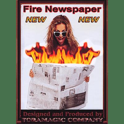 Fire Newspaper by Tora Magic - Trick