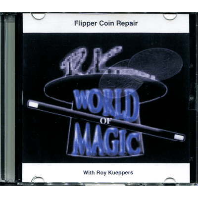 Flipper Coin Repair by Roy Kueppers - DVD