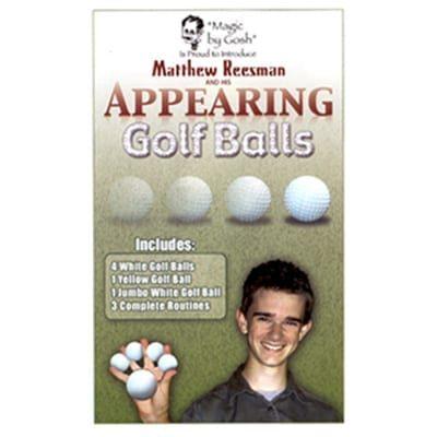 Appearing Golf Balls by Goshman and Matthew Reesman - Trick