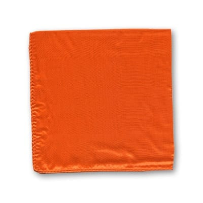 Silk 12 inch single (Orange) Magic by Gosh - Trick