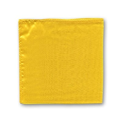 Silk 12 inch single (Yellow) Magic by Gosh - Trick