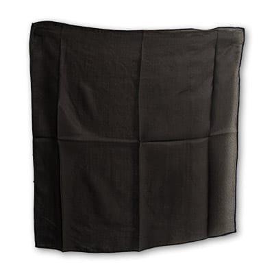 Silk 18 inch (Black) Magic by Gosh - Trick