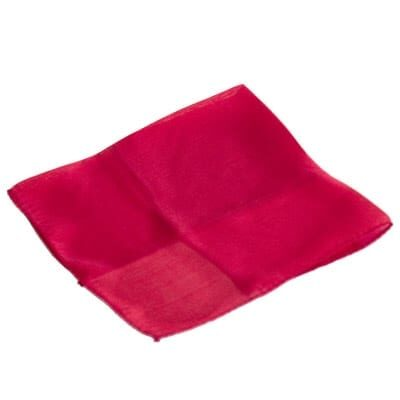 Silk 9 inch (Red) Magic by Gosh - Trick