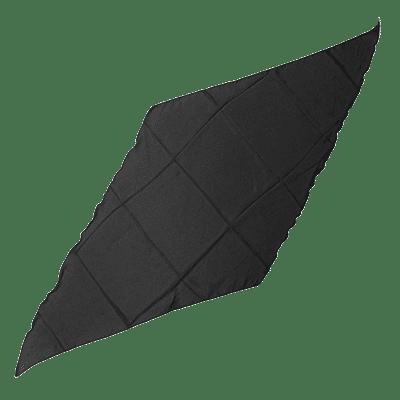 Diamond Cut Silk 36 inch (BLACK) by Magic by Gosh - Trick