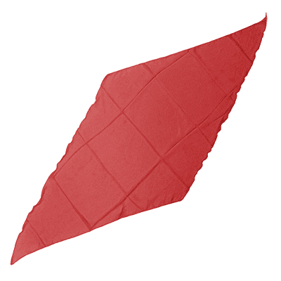 Diamond Cut Silk 36 inch (RED) by Magic by Gosh - Trick