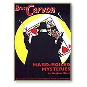 Bruce Cervon Hard Boiled Mysteries - Book