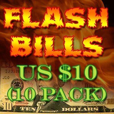 Flash Bill Ten Pack ($10.00) - Trick