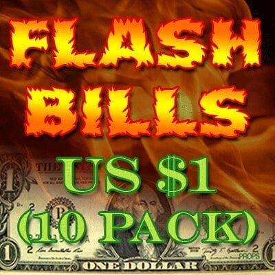 Flash Bill Ten Pack ($1.00) - Trick