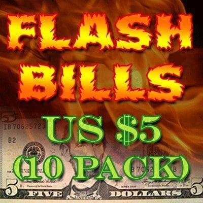 Flash Bill Ten Pack ($5.00) - Trick