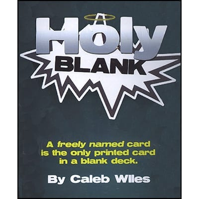 Holy Blank by Caleb Wiles - Trick